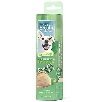 Tropiclean Fresh Breath Clean Teeth Gel For Dogs (Vanilla Mint)