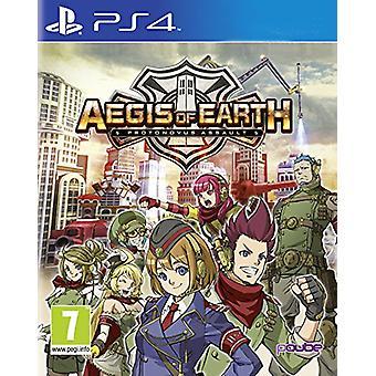 Auspiciën van de aarde Protonovus Assault (PS4)-nieuw