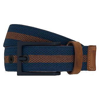 Cinturones de correa correas de hombres LLOYD cinturón azul 6900