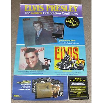 Elvis Presley Golden Celebration Continues 50th Annivesary Poster
