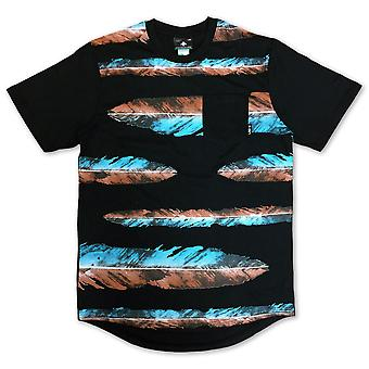 LRG War Feather Scoop Knit T-shirt Black