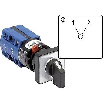 Kraus & Naimer CG4 A222-600 FS2 Isolator switch 10 A 1 x 60 ° Grey, Black 1 pc(s)