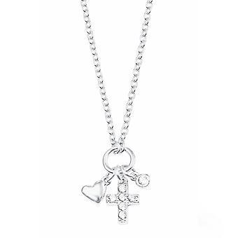 s. Oliver gioiello cuore collana d'argento di bambini e ragazzi/cross 2022703