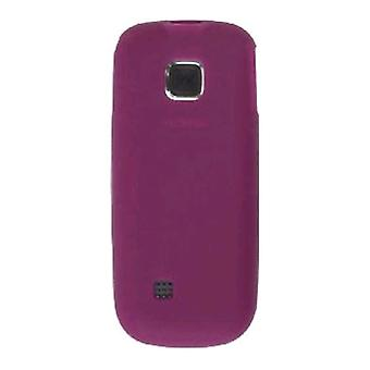 Wireless Solutions Premium Silicone Gel Case for Nokia 2330 (Raspberry)