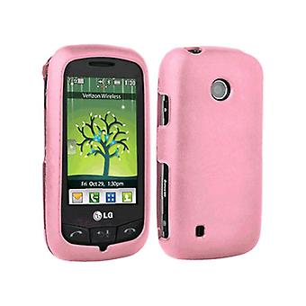 Verizon Silicone Skin Case for LG Cosmos Touch VN270 - Pink