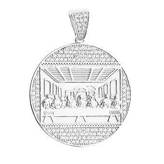 Premium Bling - 925 sterling silver last supper pendant