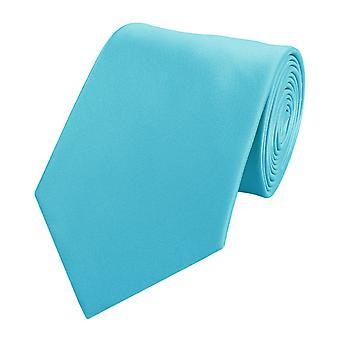 Tie tie tie tie 8cm cyan turquoise by Fabio Farini