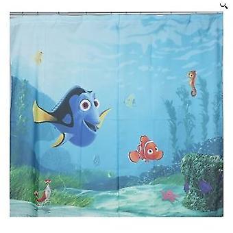 Disney Nemo par gardiner til soveværelset bakke 180 x 160 centimeter cm
