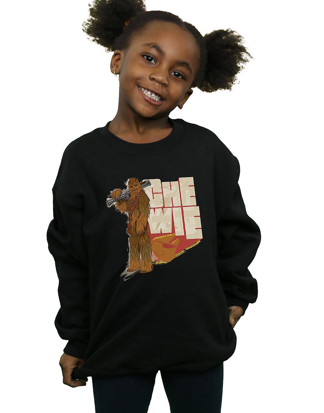 Star Wars Girls Solo Chewie Falcon Sweatshirt