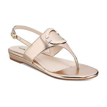 Alfani Womens Hamlyn Open Toe Casual Ankle Strap Sandals