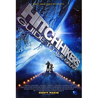 De Hitchhikers Guide to de Galaxy filmposter (11 x 17)