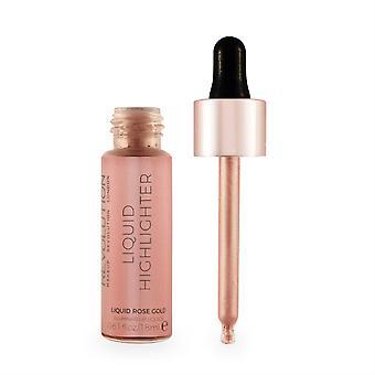 Makeup Revolution Liquid Highlighter Liquid Rose Gold