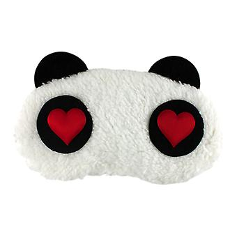 Dear Panda, fluffy sleeping mask for travel and relaxation