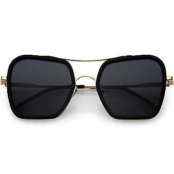ساحة كبيرة الحجم النظارات الشمسية المستقطبة عدسة المرأة شقة 51 مم