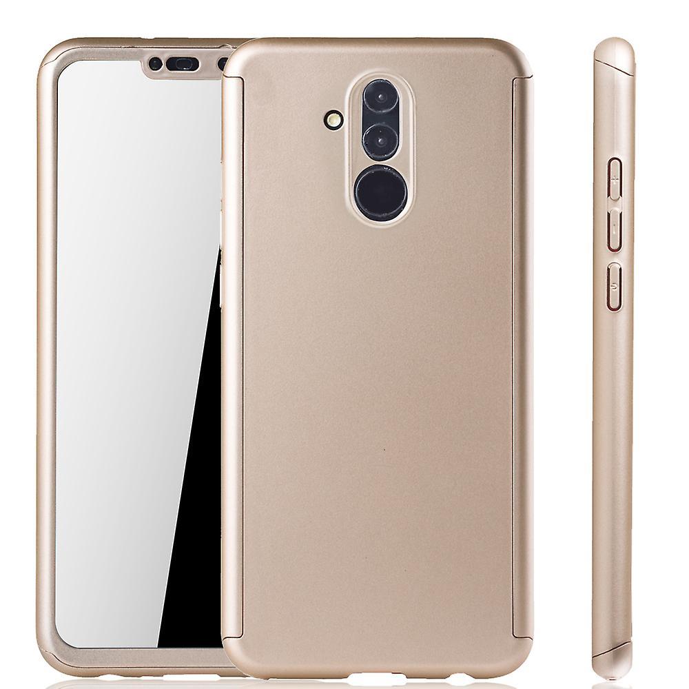 Teléfono Celular Estuche Protector Para Huawei Mate 9 3 en 1 Cubierta De Parachoques Cromo Rojo Nuevo