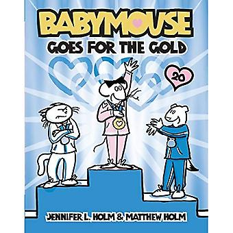 Babymouse Goes for the Gold (Babymouse (Library))