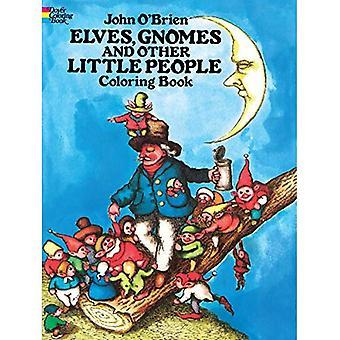 Elfjes, gnomen en andere mensjes Coloring boek