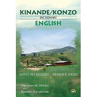 Kinande/Konzo-Engels woordenboek