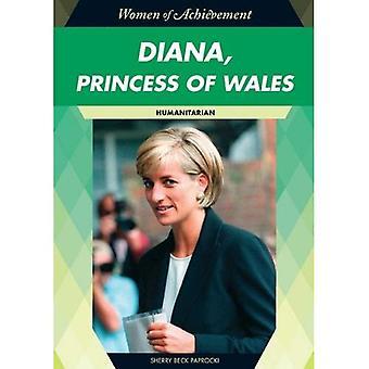 Diana, princesa de país de Gales: humanitaria