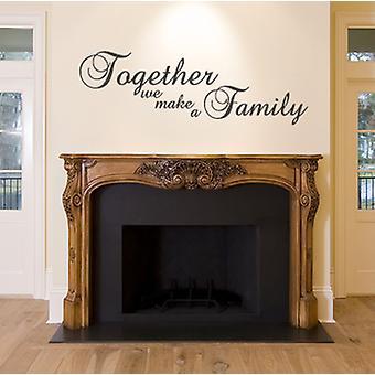 معا نجعل ملصقا جدار الأسرة