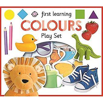 Kleuren: Eerste leren spelen Sets (eerste leren spelen Sets) [Board boek]