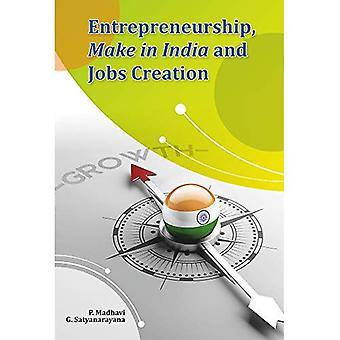 Entreprenörskap, Make i Indien och arbetstillfällen