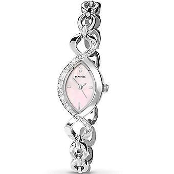 Sekonda wristwatch, female, stainless steel, Silver (1)