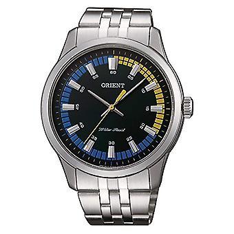 Orienter la montre analogique à Quartz pour hommes avec bande en acier inoxydable SQC0U005F0