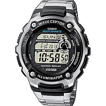 Casio montre digitale quartz Unisex acier inoxydable bande WV-200DE-1AVER