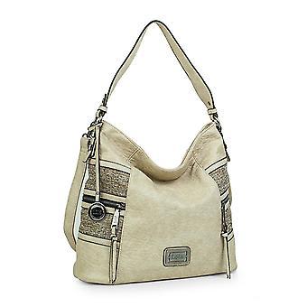 Grande maniglia e tracolla regolabile donne borsa 302370 Lois