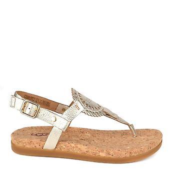 Ugg Ayden Ii Metallic guld Toe Post Sandal