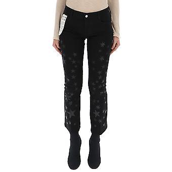 Stella Mccartney 475508smh141069 Women's Black Cotton Jeans