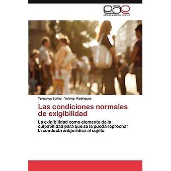 Las Condiciones Normales de Exigibilidad da Su Ez & Yoruanys