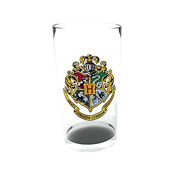 Harry Potter Hogwarts Crest Large Glass