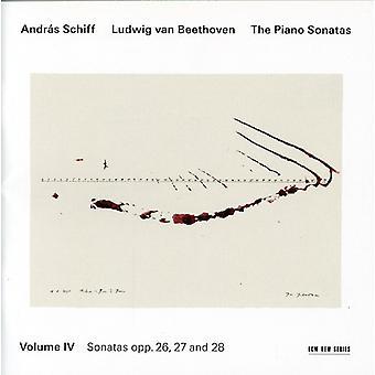 L.V. Beethoven - Beethoven: The Piano Sonatas, Vol. 4 - Opp. 26, 27 & 28 [CD] USA import