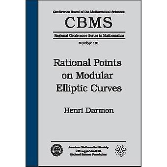 Rational Points on Modular Elliptic Curves - 9780821828687 Book