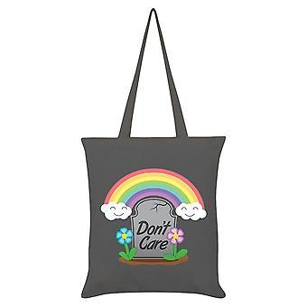 Grindstore Don't Care Tote Bag