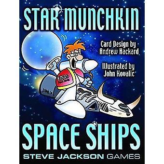 Steve Jackson spil Star Munchkin Space skibe Card spil