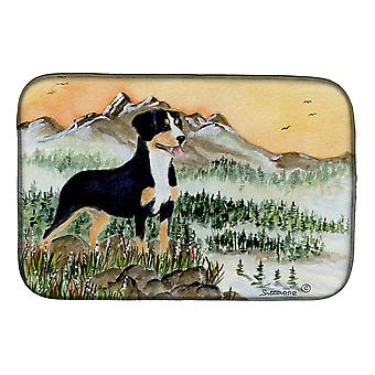 Carolines Treasures  SS8119DDM Entlebucher Mountain Dog Dish Drying Mat