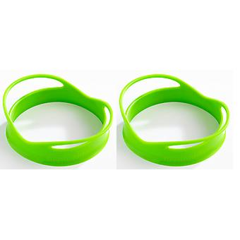 Mastrad set van 2 siliconen ei & Food shapers, cirkel