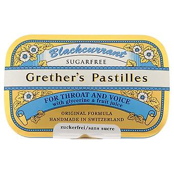 Grether's Blackcurrant Pastilles Sugar Free 60g