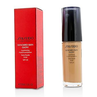 Shiseido Synchro Skin Glow Luminizing Fluid Foundation SPF 20 - # steg 4 30ml / 1oz