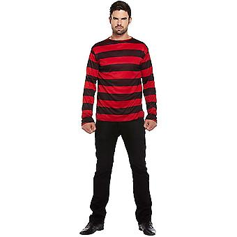 Bristol Novelty Unisex Adults Striped Jumper