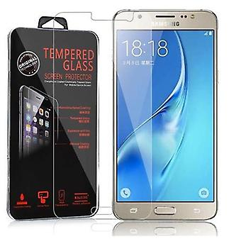 Cadorabo Tank Foil for Samsung Galaxy J5 - Protective Film in KRISTALL KLAR - Tempered Display Protective Glass in 9H Hardness with 3D Touch Compatibility