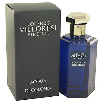 Acqua di colonia (lorenzo) eau de toilette spray door lorenzo villoresi 533423 100 ml