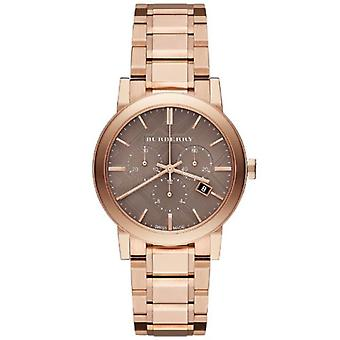 Burberry Bu9754 The City Rose Gold-tone Unisex Watch