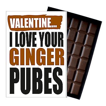 ガールフレンドの妻のボーイフレンドの夫のチョコレートグリーティングカードIYF139のための面白いバレンタインデーの贈り物