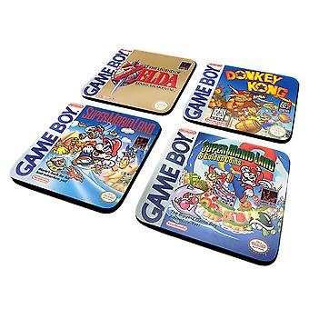 Game Boy Classic Kollektion Untersetzer Set