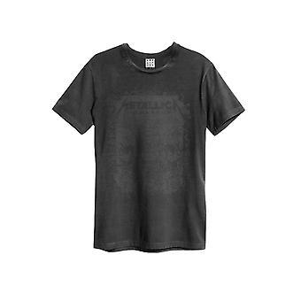 Versterkte Metallica Het zwarte album T-shirt