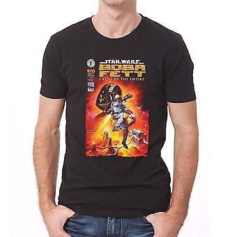 Star Wars voksne unisex voksne Fett fjende tegneserie design T-shirt